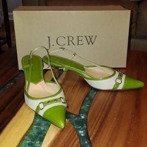 J.Crew Slingback Heels